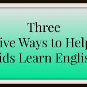 Kids Learn English